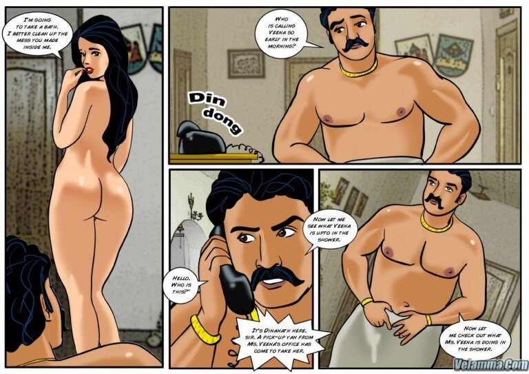 Veena - Episode 3 - A Sexy Surprise - Panel 003
