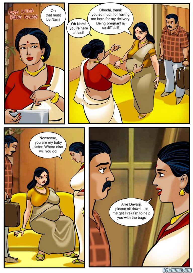Velamma - Episode 3 - How far would you go for your family? - Panel 001