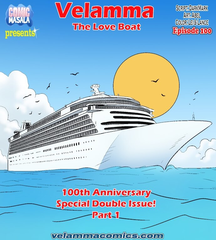 Velamma Episode 100 - The Love Boat part 1