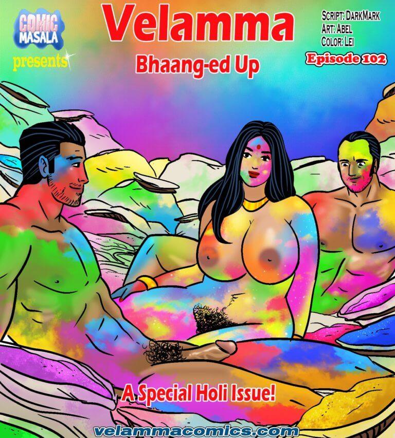 Velamma Episode 102 - Bhaang-ed Up