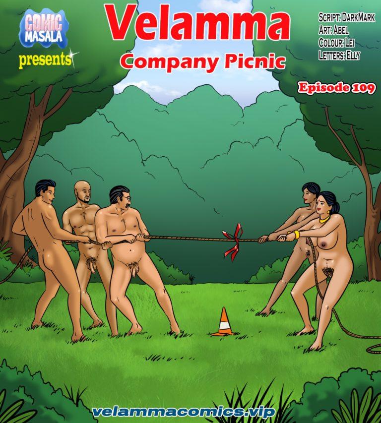 Velamma Episode 109 - Company Picnic