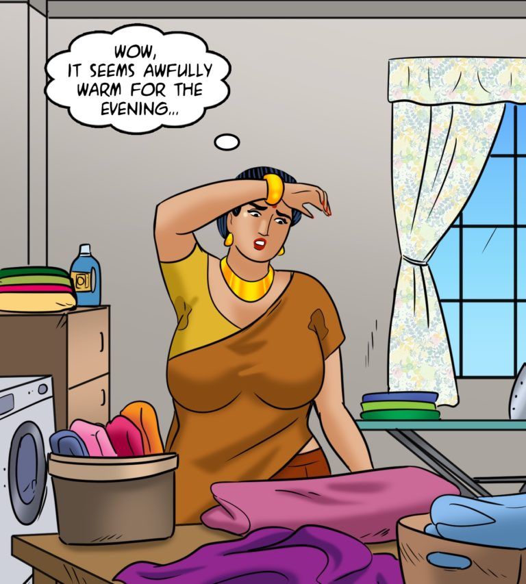 Velamma - Episode 113 - Hot and Bothered - Page 001