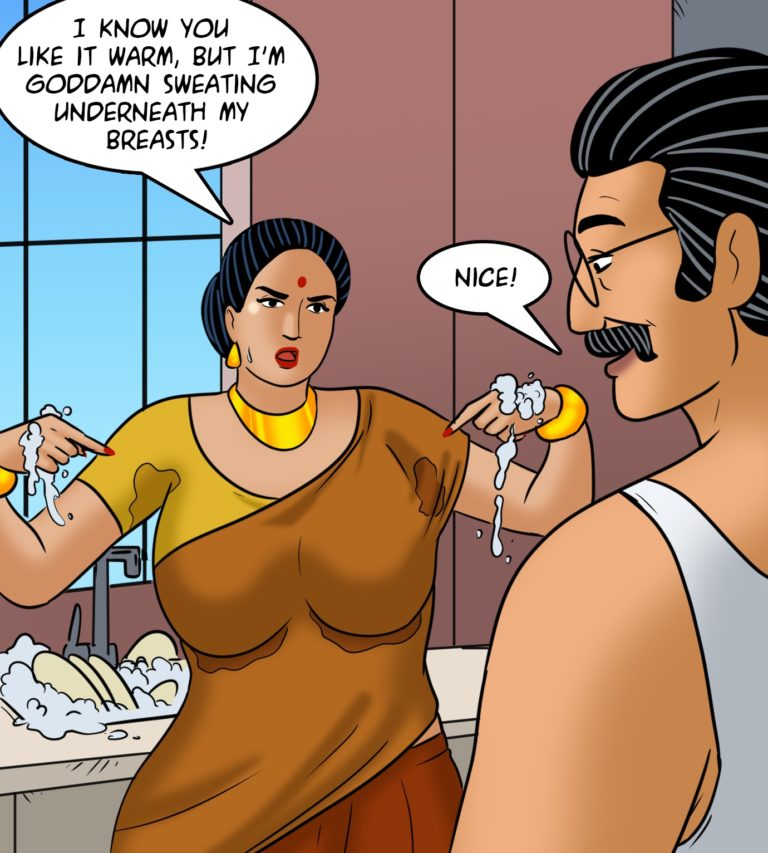 Velamma - Episode 113 - Hot and Bothered - Page 004