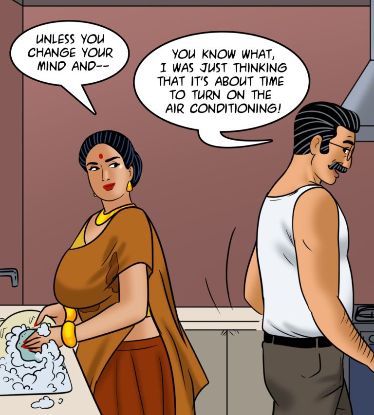 Velamma - Episode 113 - Hot and Bothered - Page 008