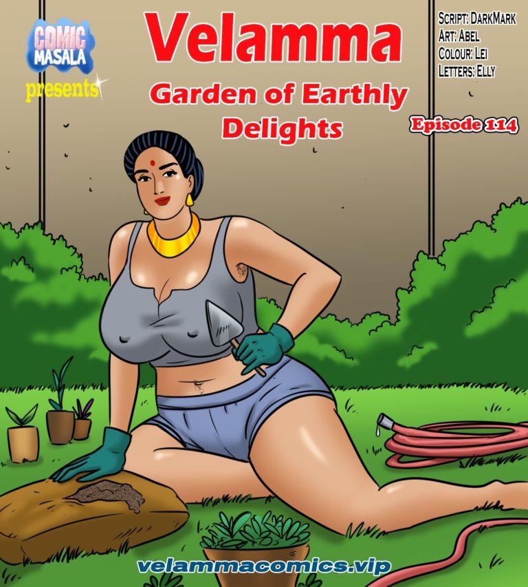 Velamma Comics - Episode 114 - Garden of Earthly Delights - Page 000