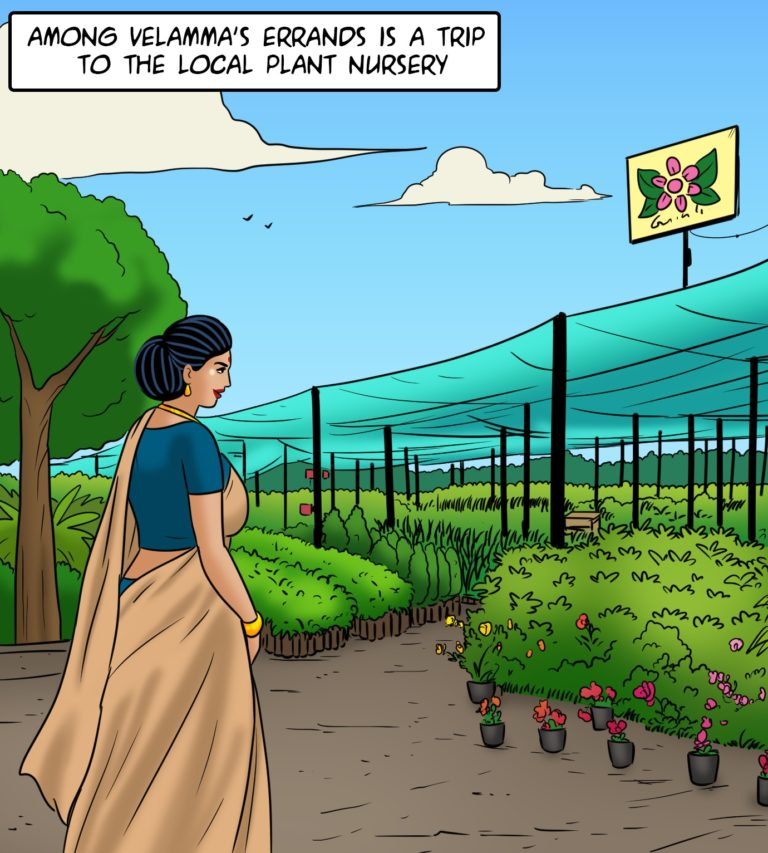 Velamma Comics - Episode 114 - Garden of Earthly Delights - Page 001