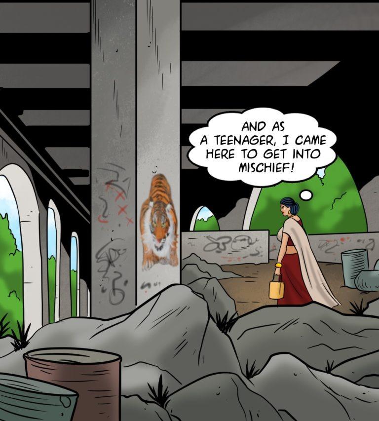 Velamma Comics - Episode 115 - Sucked By Vandals - Page 004