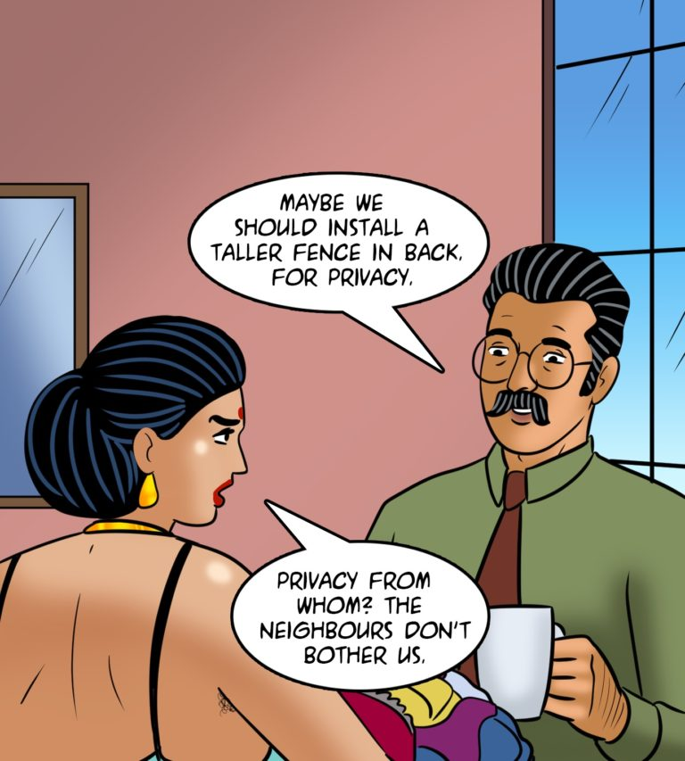 Velamma Comics - Episode 116 - Love Thy Neighbour - Page 004
