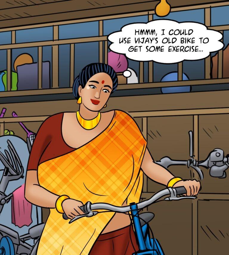 Velamma - Episode 119 - Biker Babe - Page 009